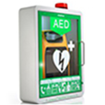 AED CABINET (WITH MOUNTING KIT,LOCK AND ALARM)